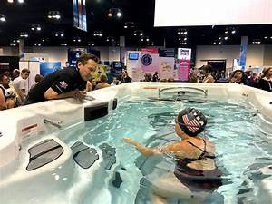 Master Spas Holds Michael Phelps Swim Spa Challenge At U S  Olympic Trials