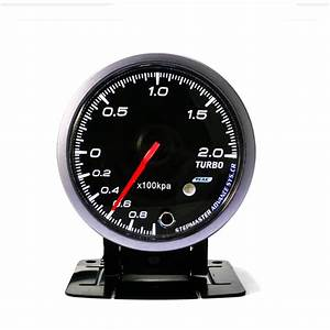 New 12v 2 5inch 60mm Car Auto Racing Led Turbo Boost Gauge