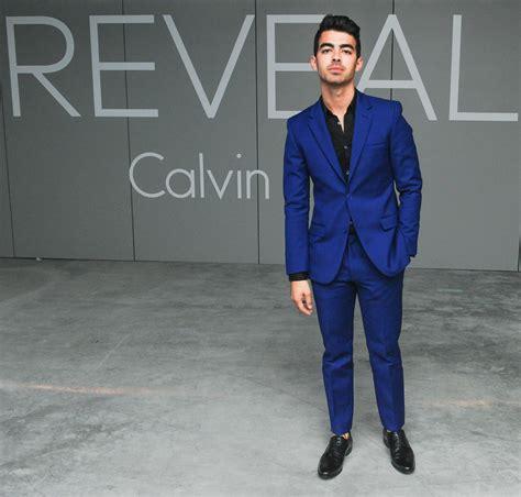 Joe Jonas Celebrates Calvin Klein Reveal Launch in ...