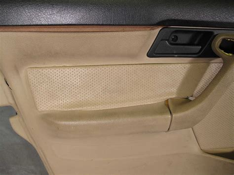 Bmw E34 5-series Sedan Front Interior Door Panel Trim Skin