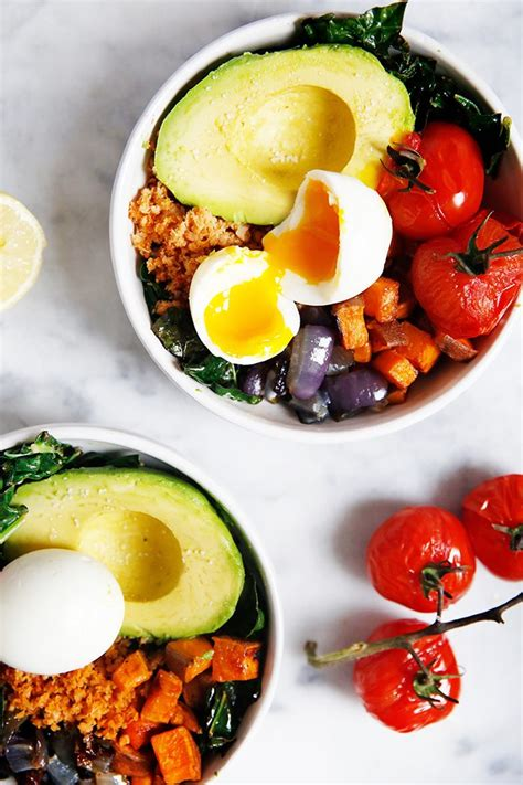 quick easy meal prep breakfast bowls