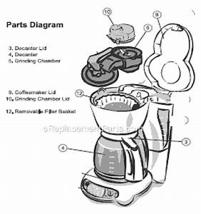 Mr  Coffee Gbx23 Parts List And Diagram