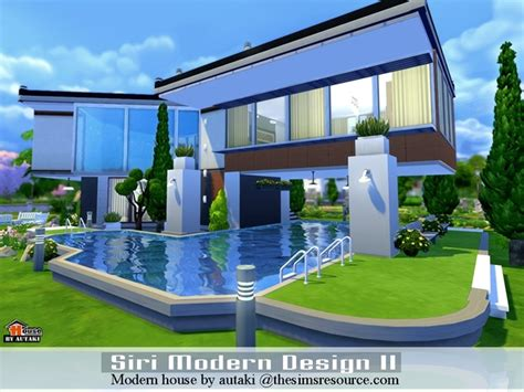 Sims 4 House Design Ideas : Sri Modern Design Ii House By Autaki At Tsr » Sims 4 Updates