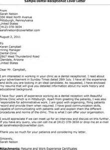 Standard Cover Letter Sle Dental Hospital Resume Sales Dental Lewesmr