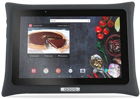 tablette pour la cuisine qooq une tablette android pour la cuisine