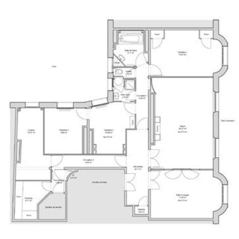 Plan Maison Avec Appartement Plan Appartement 70m2