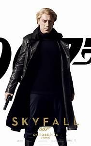 James Bond Skyfall : banner four skyfall character posters line up bond blonde bardem babes ~ Medecine-chirurgie-esthetiques.com Avis de Voitures