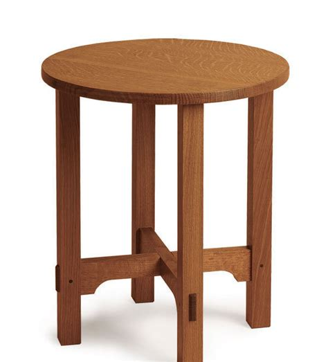 plan  arts  crafts side table finewoodworking
