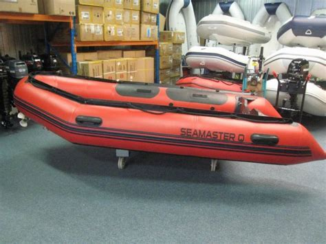 Quicksilver Rubberboot by Nieuwe Seamaster 380 Hd En Quicksilver Rubberboot Te Koop