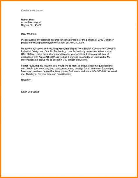 How To Email Cover Letter And Resume Attachments by 12 13 Sle Letters With Attachments Mysafetgloves
