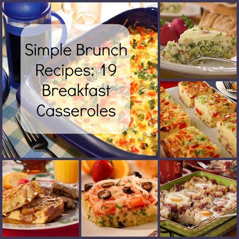 simple brunch simple brunch recipes 19 breakfast casseroles mrfood com