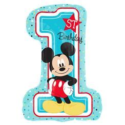 balon foil cincin i do uk mini mickey mouse 1st birthday supplies delights