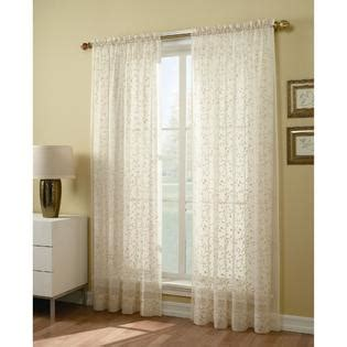 Kmart Sheer Curtain Panels by 84 Inch Sheer Window Panel Find Voile Curtains At Sears