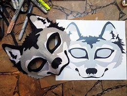Hd wallpapers felt wolf mask template 23pattern98mobile6 hd wallpapers felt wolf mask template maxwellsz
