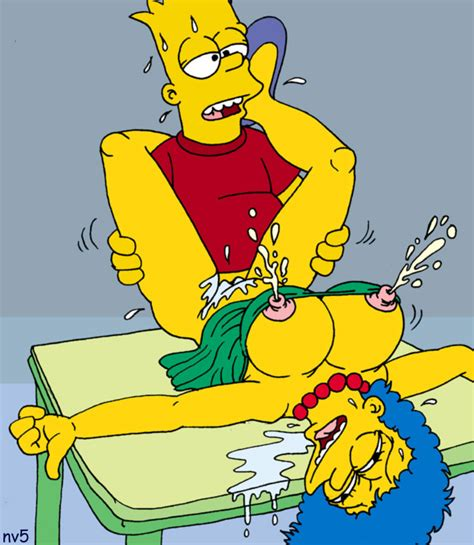 Sex simpsons bart Incest: Marge