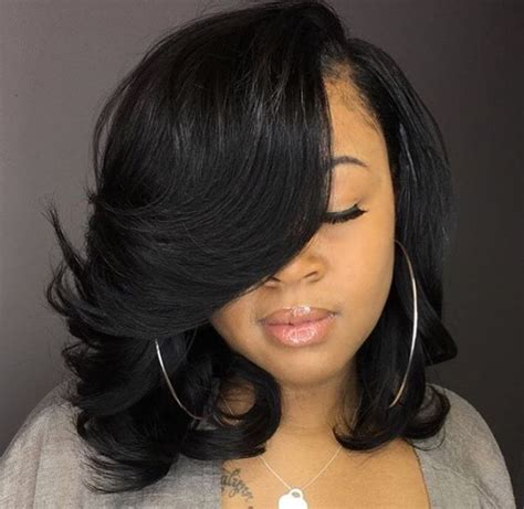 Black Weave Bob Hairstyles by Best 25 Black Bob Hairstyles Ideas On