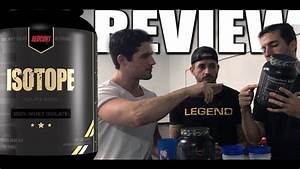 Redcon1 Isotope Whey Protein Isolate Review