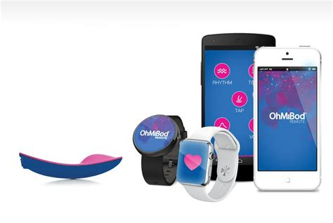 OhMiBod's connected vibrators buzz in sync with partner's