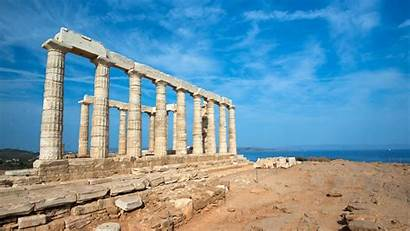 Ancient Greek Greece Wallpapers Athens Ruins Travel
