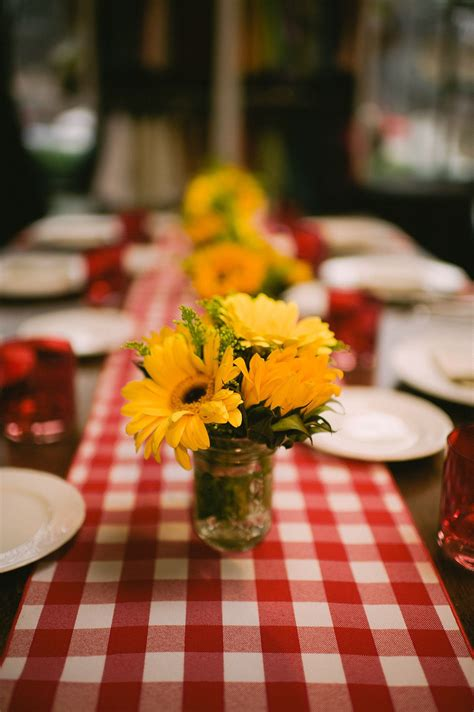 Wedding Event Tablescape Rustic Country Farm Table