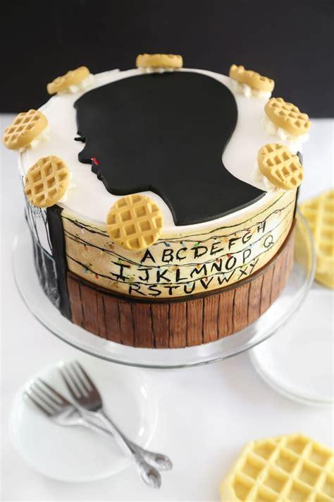 Stranger Things Eleven Cake (Sprinkle Bakes) | Stranger ...