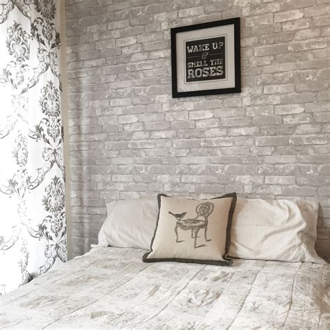 how to your own brick feature wall brewster wallcovering