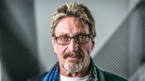 John Mcafee Can Finally Use His Name, Settles Lawsuit But