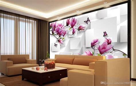 customized wallpaper  walls home decor living room