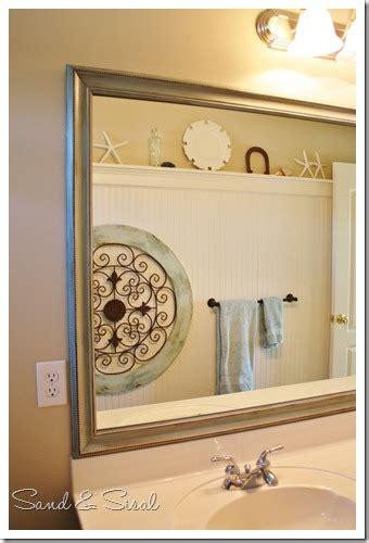 painted mirror  paint glaze  enhance details