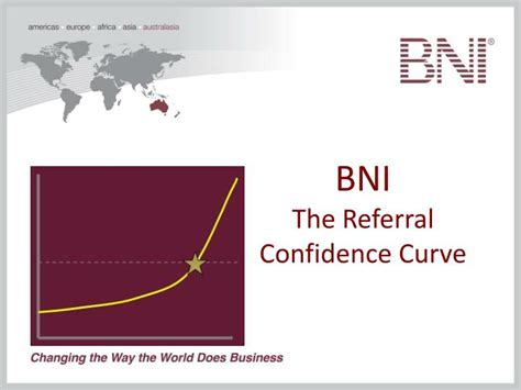 bni  referral confidence curve powerpoint