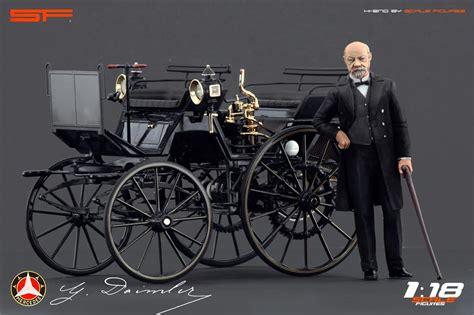 Gottlieb Daimler Figure (sf118010) Im 1
