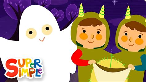 Knock Knock, Trick Or Treat?  Halloween Song  Super Simple Songs Youtube