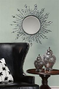 diamond mirror wall mirrors wall decor home decor With wall decor mirror home accents