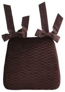 pleated velvet dining cushion chocolate contemporary seat cushions by pier 1 imports