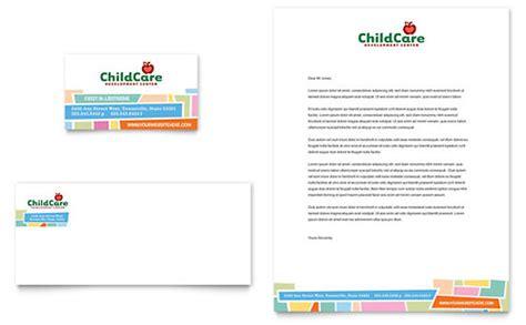 card template preschool preschool day care brochure template design