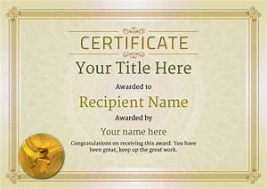 Free Martial Arts Certificate Templates