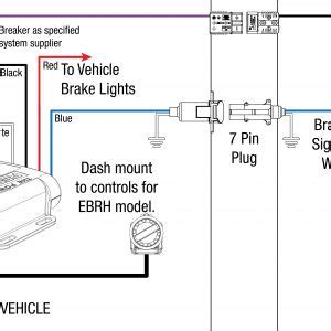 trailer breakaway wiring schematic  wiring diagram