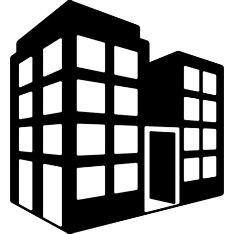 buildings office building tower block icon