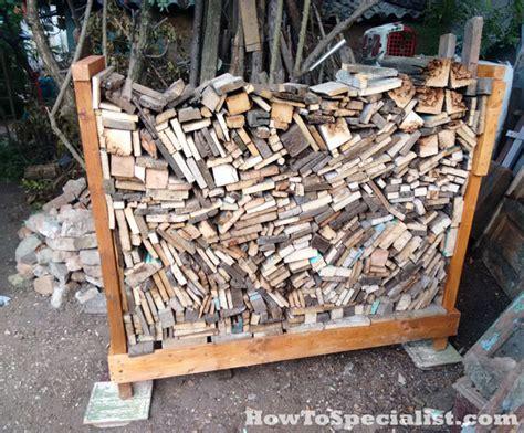 diy firewood rack myoutdoorplans  woodworking