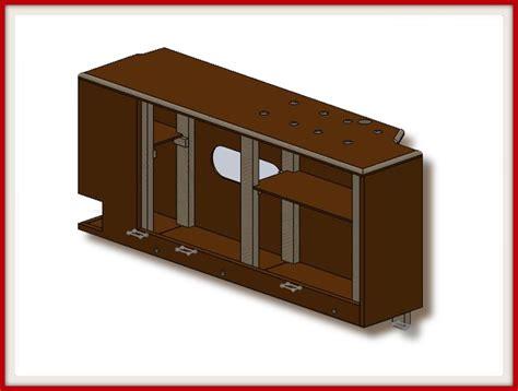 modelisation cuisine aménagement fourgon une cuisine discrète très complète