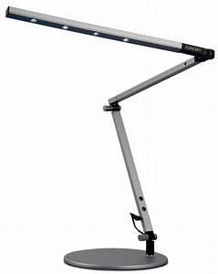 Koncept lighting z bar mini high power led desk lamp for Z bar table lamp