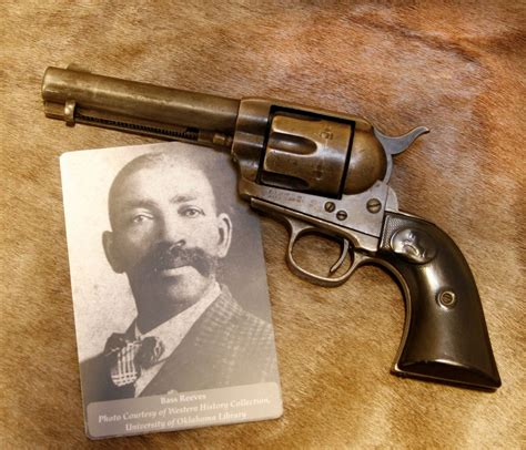 bass reeves colt single army 45 revolver courtesy western history collection