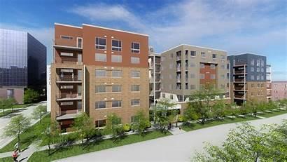Senior Housing Construction Rendering Begins Denver Urban