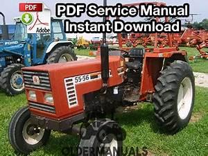 FIAT 55-60 60-66 65-66 70-66 80-66 TRACTOR WORKSHOP REPAIR MANUAL
