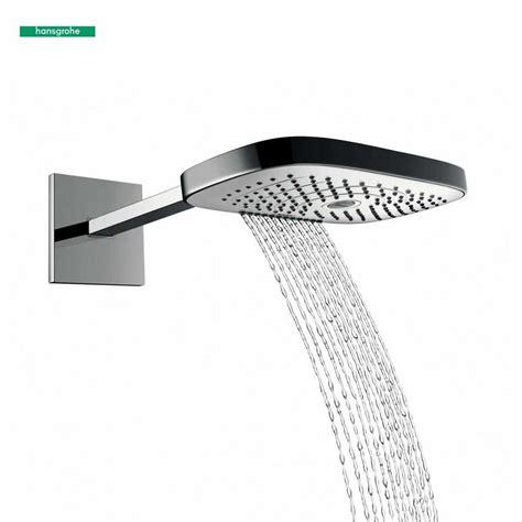 hansgrohe raindance select 420 hansgrohe raindance select e 300 3jet overhead shower uk bathrooms