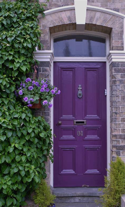 17 best ideas about purple front doors on pinterest