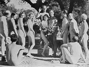 Nudist Wedding Pictures   Getty Images