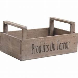 Cagette En Bois : cagette en bois personnalis e vannerie ~ Teatrodelosmanantiales.com Idées de Décoration