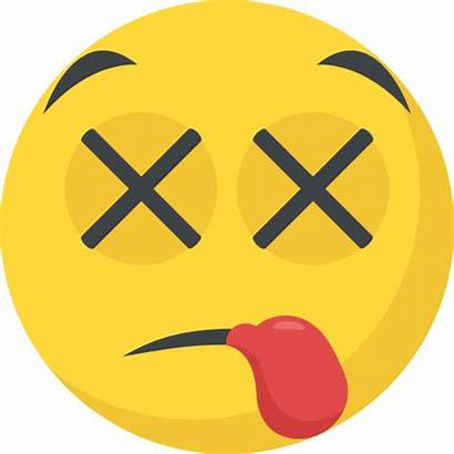 Emoji Tired Exhausted Emoticon Face Icon Icons