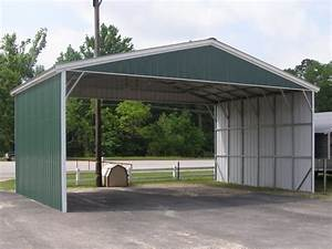 Vertical Roof Metal Carports Carport1